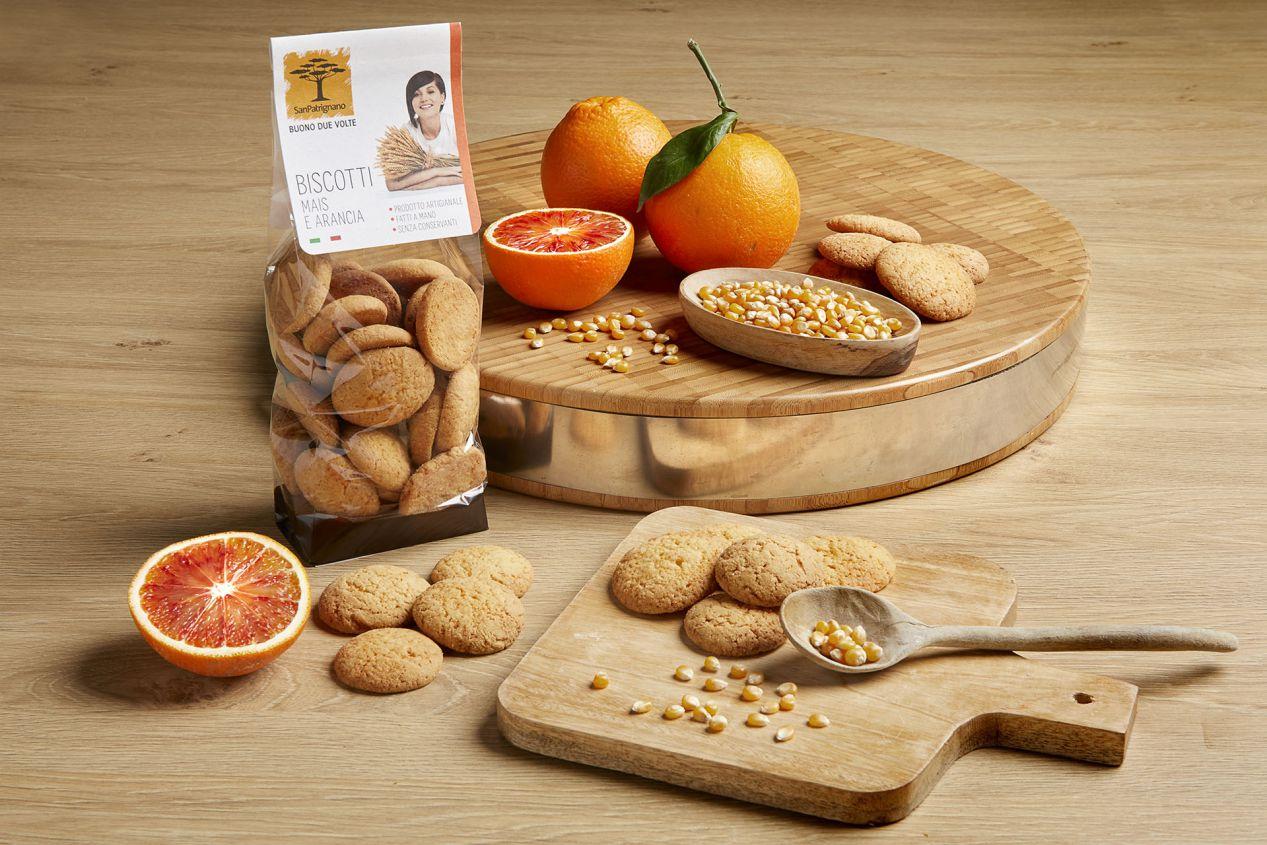 Biscotti mais e arancia - 250gr