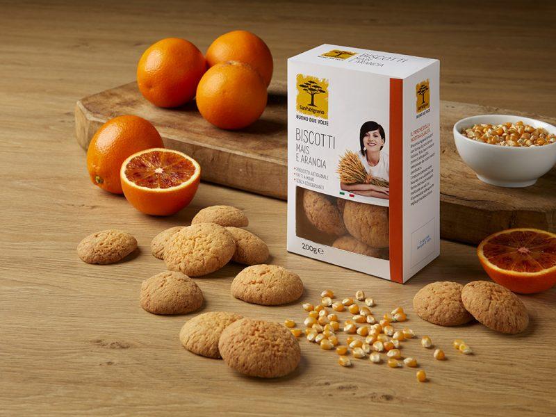 Biscotti mais e arancia
